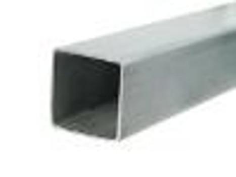 """1/4"""" 2x2 Bare Steel Box Tube Sold Per Foot"""