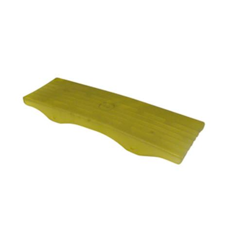 "Yellow Keel Pad  3"" x 12"" Side Mount Tabs"