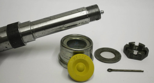 """1 1/16"""" Straight Spindle Lube Trailer Spindle"""
