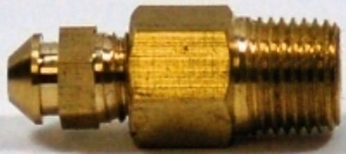 "Kodiak 1/8"" NPT X 1/4"" - 28 Brass Bleed Screw And Adapter"