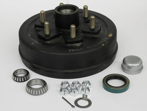 "Trailer Hub Drum - 10"" 6 Lug"