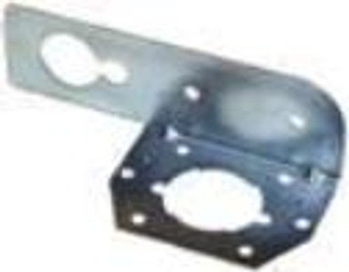 Mounting Bracket For Car Side 6 Pole Receptacle
