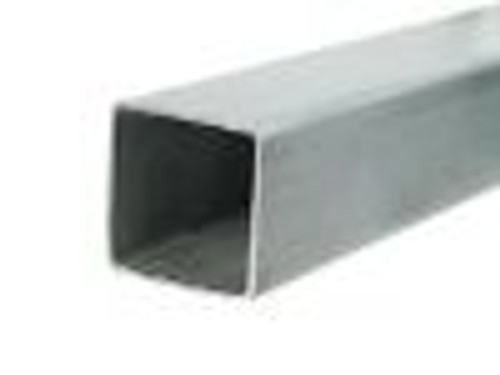 """1/4"""" 2x2 Galvanized Box Tube Sold Per Foot"""