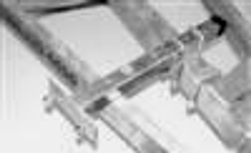 Box Tube Cross Frame Spare Tire Carrier