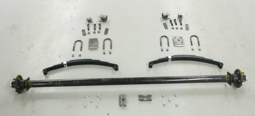"89"" 3500# Single  Axle Undercarriage  Kit"