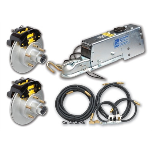 """Dexter Complete 10"""" Stainless Steel Disc Brake System"""