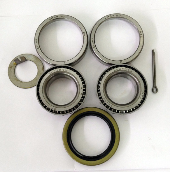 1 1/4'' Straight Trailer Wheel Bearing Kit