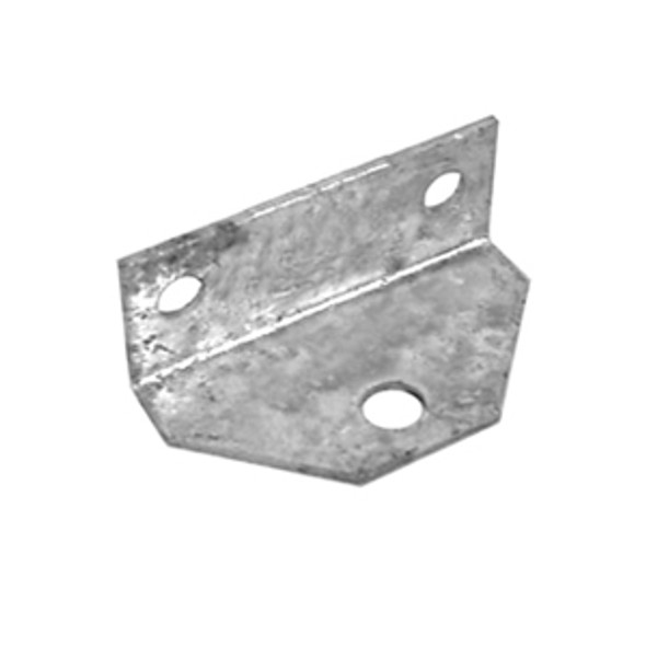 Galvanized Angle Top Clip for Bolster Bunk Board Brackets