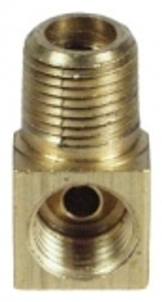 "Kodiak 1/8"" NPT X 3/16"" If 90 Brass Tube Adapter"