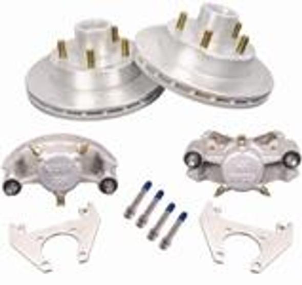 "Kodiak 5lug on 4.5 10"" Integral Hub Rotor Dacromet Disc Brake Units"
