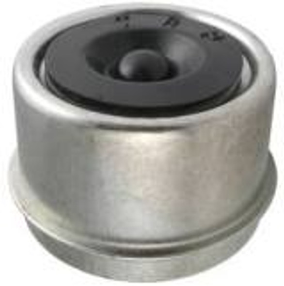 2.44 Spindle Lube Dustcap with Rubber Plug