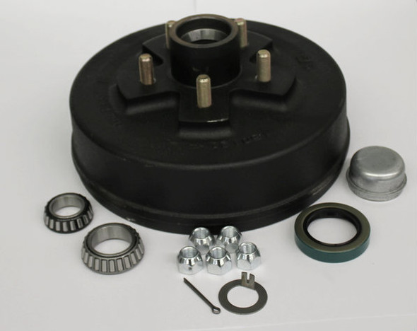 "Trailer Hub Drum - 10"" 5 Lug on 5.5"