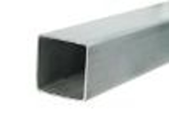 "1/4"" 2x2 Galvanized Box Tube Sold Per Foot"