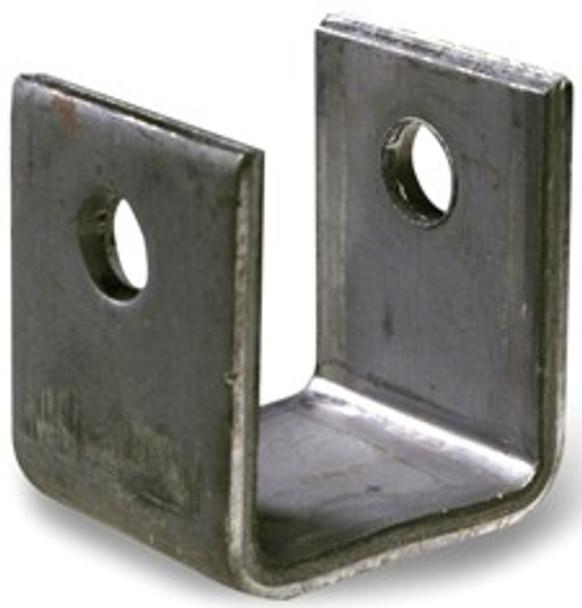 "1.5"" Short Front Spring Hanger in Black Iron"