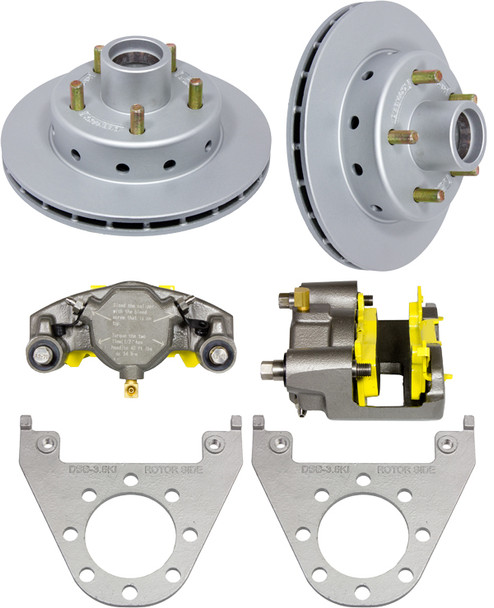 Deemaxx 5 Lug Integral Trailer Disc Brakes (1 Axle Set)