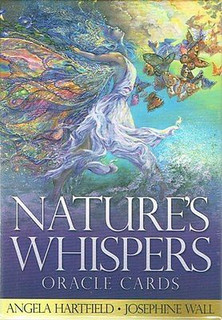 Nature's Whispers Oracle Cards by Angela Hartfield & Josephine Wall (Sealed)