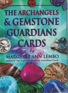 The Archangels & Gemstone Guardian Cards by Margaret Ann Lembo (Sealed)