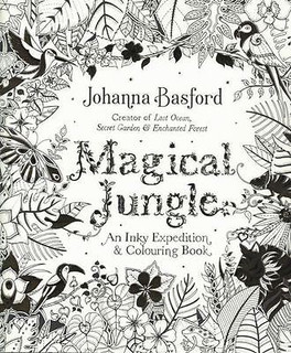 Magical Jungle - An Inky Expedition & Colouring Book by Johanna Basford