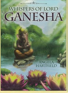Whispers of Lord Ganesha Oracle Cards by Angela Hartfield (Sealed)