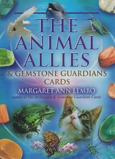 The Animal Allies & Gemstone Guardians Cards by Margaret Ann Lembo NEW & Sealed