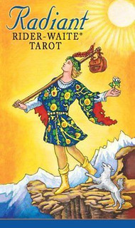 Radiant Rider Waite Tarot Deck based on Drawings by Pamela Colman Smith