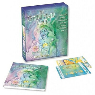 The Crystal Power Tarot by Jayne Wallace (NEW & Sealed)