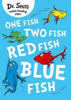 Dr Seuss's One Fish Two Fish Red Fish Blue Fish (NEW)