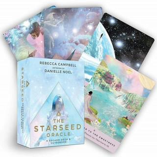 The Starseed Oracle by Rebecca Campbell 53-Card Deck & Guidebook (Sealed)
