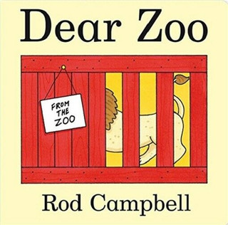Dear Zoo by Rod Campbell (Lift The Flaps Board Book - NEW)