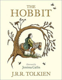 The Hobbit by J.R.R. Tolkien - Colour Illustrated by Jemima Catlin (NEW)