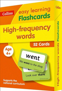 High-Frequency Words Flashcards - Collins Easy Learning