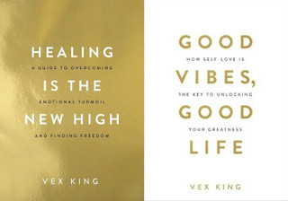 Healing Is The New High & Good Vibes, Good Life by Vex King