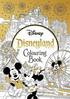 Disneyland Park Colouring Book (NEW)