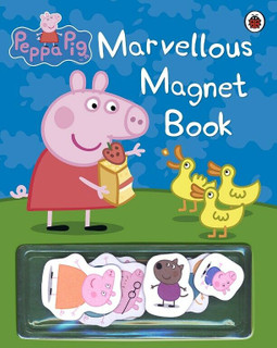 Peppa Pig - Marvellous Magnet Book (NEW)