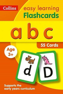 ABC Flashcards - Collins Easy Learning Age 3+ (NEW & Sealed)
