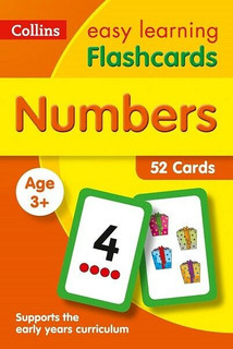 Numbers Flashcards - Collins Easy Learning Age 3+ (NEW & Sealed)