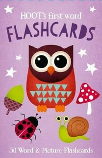 Hoot's First Word Flashcards - 50 Word & Picture Flashcards (NEW & Sealed)