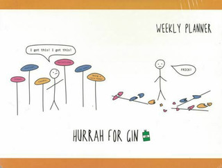 Hurrah For Gin Weekly Planner by Katie Kirby (NEW)