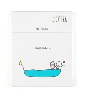 Hurrah for Gin Jotter Pad by Katie Kirby (NEW)