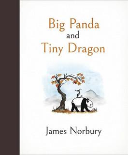 Big Panda and Tiny Dragon by James Norbury (NEW Hardback)
