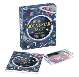 The Moon & Stars Tarot by Jayne Wallace (NEW & Sealed) 78-cards & 64-page book