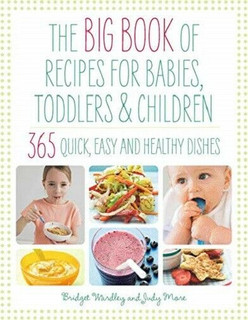The Big Book of Recipes for Babies, Toddlers & Children by Bridget Wardley (NEW)