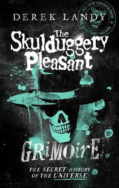 The Skulduggery Pleasant Grimoire by Derek Landy (Hardback)