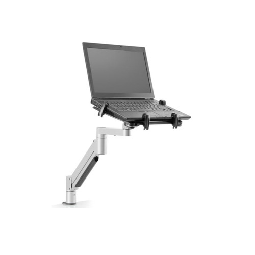 Model 7000-T laptop mount combines our best-selling 7000 monitor arrm with our award-winning laptop bracket. Create an instant height-adjustable docking station for your laptop!