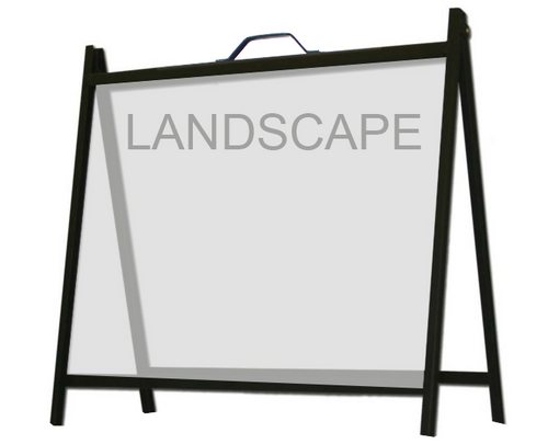 S218  A-Frame for 1 or 2 signs (Signs not included)