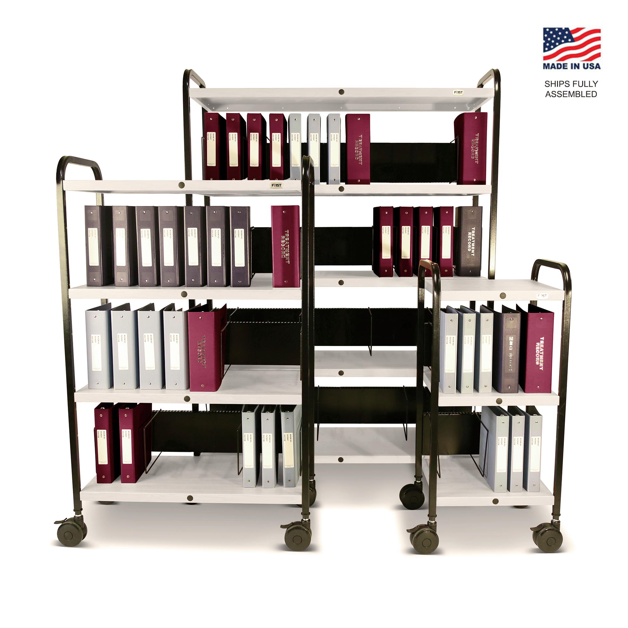 Mov-it Elite chart Rack: Series I Linen