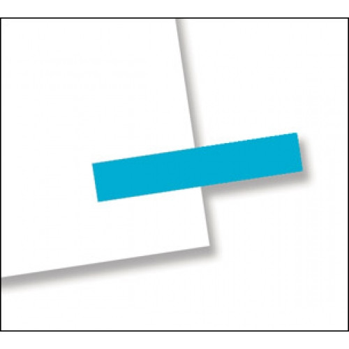 """3/16"""" x 1"""", 300 Flags Redi -Tag Small Solid Blue"""