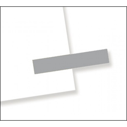 """3/16"""" x 1"""", 300 Flags Redi -Tag Small Solid Silver"""