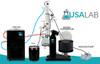USA Lab 20L Rotary Evaporator Turnkey Rotovap RE-1020 w/ Vacuubrand MD 4C NT