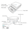 "USA Lab 1500RPM 400°C 7"" x 7"" Magnetic Hotplate Stirrer USA-HSD 110V"